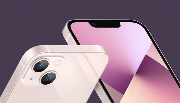 The iPhone 13 Pro Max has a 6.7-inch (OLED) screen with a refresh rate of 120 Hz - Photo from Twitter